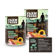 Farm Fresh – Venison and Rabbit with Sweet Potatoes 400g, 800g