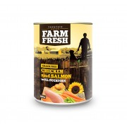 Farm Fresh – Chicken and Salmon with Potatoes 400 g, 800 g