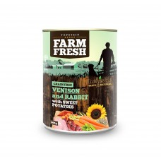 Farm Fresh – Venison and Rabbit with Sweet Potatoes 400 g, 800 g