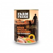 Farm Fresh – Chicken and Herring with Cranberries 400 g