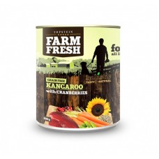 Farm Fresh – Kangaroo with Cranberries 400 g, 800 g