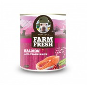 Farm Fresh – Salmon with Cranberries 375 g, 750 g