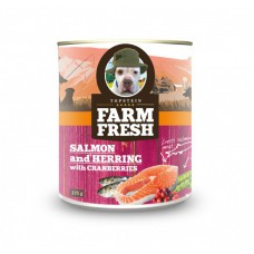 Farm Fresh – Salmon and Herring with Cranberries 375 g, 750 g