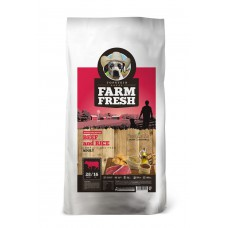 Farm Fresh – Beef and Rice 2 kg, 15 kg